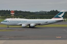ぶる~すかい。さんが、成田国際空港で撮影したキャセイパシフィック航空 747-412(BCF)の航空フォト(飛行機 写真・画像)