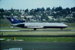 ゴンタさんが、ポートランド国際空港で撮影したユナイテッド航空 727-222の航空フォト(飛行機 写真・画像)