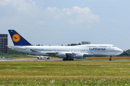 SGR RT 改さんが、成田国際空港で撮影したルフトハンザドイツ航空 747-430の航空フォト(飛行機 写真・画像)