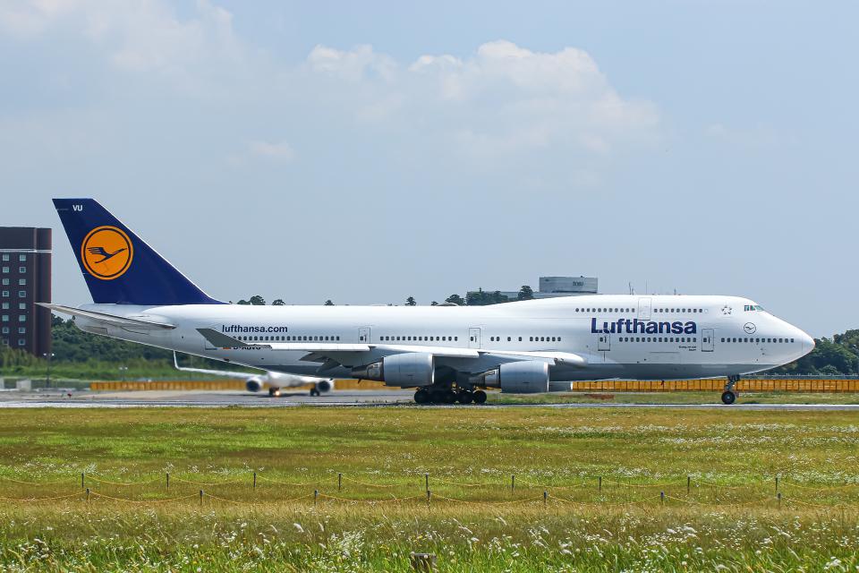 SGR RT 改さんのルフトハンザドイツ航空 Boeing 747-400 (D-ABVU) 航空フォト