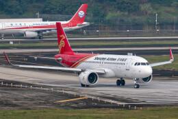 让开我先飞さんが、成都双流国際空港で撮影した深圳航空 A320-271Nの航空フォト(飛行機 写真・画像)