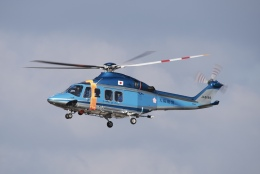 海鷹さんが、八尾空港で撮影した大阪府警察 AW139の航空フォト(飛行機 写真・画像)