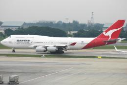 jun☆さんが、ドンムアン空港で撮影したカンタス航空 747-438の航空フォト(飛行機 写真・画像)