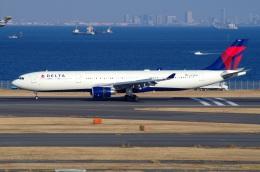 tasho0525さんが、羽田空港で撮影したデルタ航空 A330-302の航空フォト(飛行機 写真・画像)