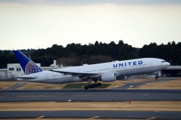 tasho0525さんが、成田国際空港で撮影したユナイテッド航空 777-222の航空フォト(飛行機 写真・画像)