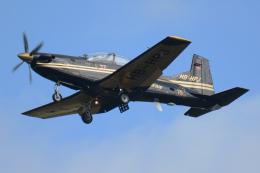 Tomo-Papaさんが、ミリテール・ド・ペイエルヌ飛行場で撮影したピラタス・エアクラフト PC-9Mの航空フォト(飛行機 写真・画像)