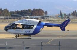 EosR2さんが、鹿児島空港で撮影した宇宙航空研究開発機構 BK117C-2の航空フォト(飛行機 写真・画像)