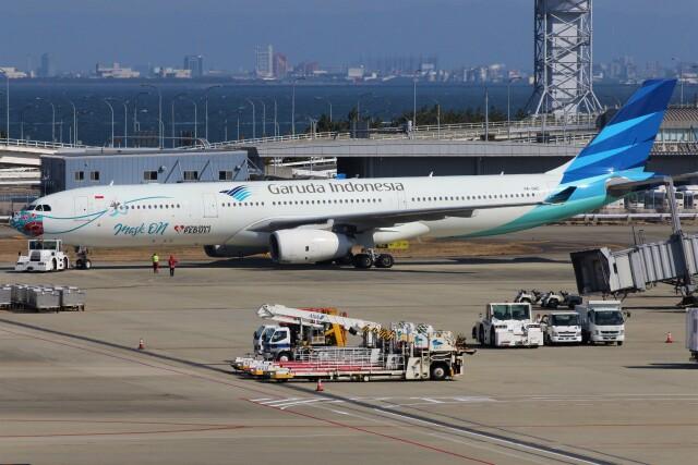 PW4090さんが、関西国際空港で撮影したガルーダ・インドネシア航空 A330-343Xの航空フォト(飛行機 写真・画像)
