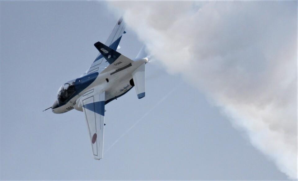 こびとさんさんの航空自衛隊 Kawasaki T-4 (16-5666) 航空フォト
