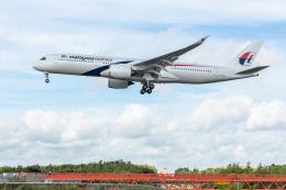 Y-Kenzoさんが、成田国際空港で撮影したマレーシア航空 A350-941の航空フォト(飛行機 写真・画像)