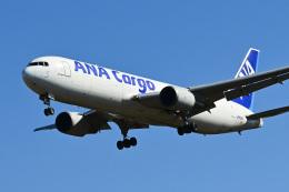 パンダさんが、成田国際空港で撮影した全日空 767-381/ER(BCF)の航空フォト(飛行機 写真・画像)