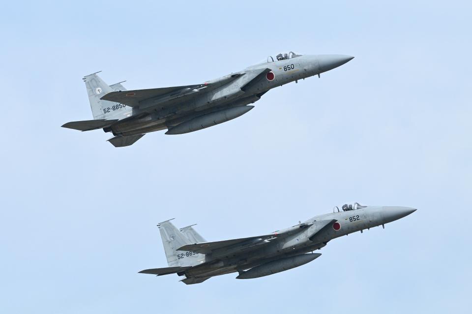 masahiさんの航空自衛隊 Mitsubishi F-15J Eagle (52-8850) 航空フォト