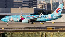中国東方航空 Boeing 737-800 (B-1317)  航空フォト | by Shotaroさん  撮影2021年01月30日%s