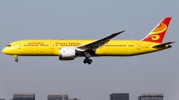 Shotaroさんが、上海虹橋国際空港で撮影した海南航空 787-9の航空フォト(飛行機 写真・画像)