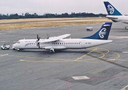 wunalaさんが、クライストチャーチ国際空港で撮影したエア・ニュージーランド・リンク ATR 72-500 (72-212A)の航空フォト(飛行機 写真・画像)