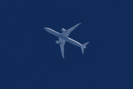 TOPAZ102さんが、豊中市上空で撮影した全日空 787-10の航空フォト(飛行機 写真・画像)