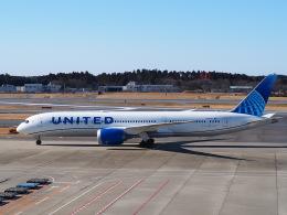 hirohirokinさんが、成田国際空港で撮影したユナイテッド航空 787-9の航空フォト(飛行機 写真・画像)