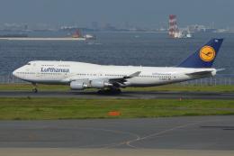 Deepさんが、羽田空港で撮影したルフトハンザドイツ航空 747-430の航空フォト(飛行機 写真・画像)