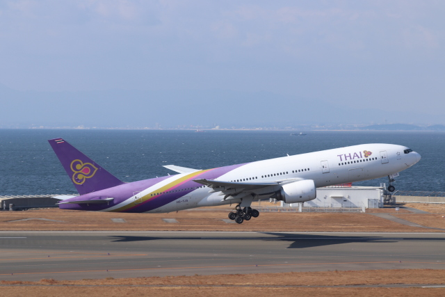 航空フォト:HS-TJS タイ国際航空