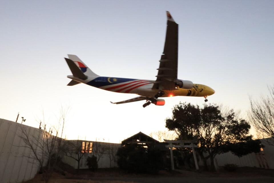 flyskyさんのマレーシア航空 Airbus A330-300 (9M-MTG) 航空フォト