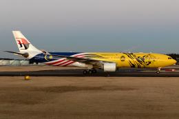 tg36aさんが、成田国際空港で撮影したマレーシア航空 A330-323Xの航空フォト(飛行機 写真・画像)