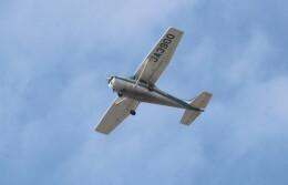 EosR2さんが、鹿児島空港で撮影した新日本航空 172P Skyhawk IIの航空フォト(飛行機 写真・画像)