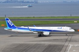 航空フォト:JA112A 全日空 A321