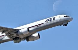 isiさんが、横田基地で撮影したエア・トランスポート・インターナショナル 757-2Y0(C)の航空フォト(飛行機 写真・画像)
