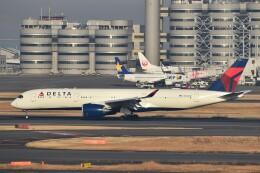 PIRORINGさんが、羽田空港で撮影したデルタ航空 A350-941の航空フォト(飛行機 写真・画像)