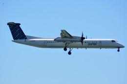 あまるめさんが、ビリー・ビショップ・トロント・シティー空港で撮影したポーター・エアラインズ DHC-8-402Q Dash 8の航空フォト(飛行機 写真・画像)
