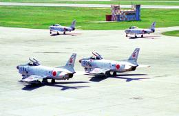 A-330さんが、名古屋飛行場で撮影した航空自衛隊 F-86D-45の航空フォト(飛行機 写真・画像)