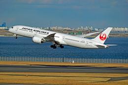 航空フォト:JA861J 日本航空 787-9