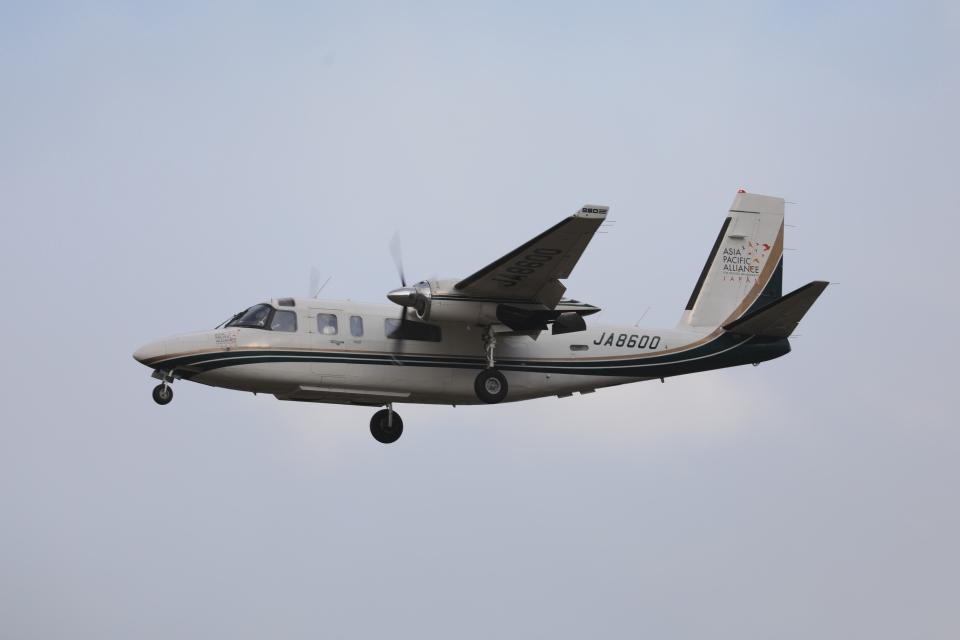 OS52さんの日本個人所有 Gulfstream Aerospace 690/695 Jetprop (JA8600) 航空フォト