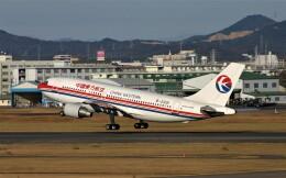 にしやんさんが、名古屋飛行場で撮影した中国東方航空 A310-222の航空フォト(飛行機 写真・画像)