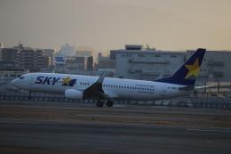 flyflygoさんが、福岡空港で撮影したスカイマーク 737-82Yの航空フォト(飛行機 写真・画像)