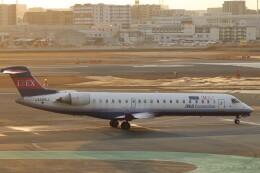 flyflygoさんが、福岡空港で撮影したアイベックスエアラインズ CL-600-2C10 Regional Jet CRJ-702の航空フォト(飛行機 写真・画像)