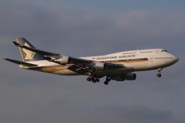 Deepさんが、成田国際空港で撮影したシンガポール航空 747-412の航空フォト(飛行機 写真・画像)