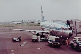 KOMAKIYAMAさんが、名古屋飛行場で撮影した全日空 737-281の航空フォト(飛行機 写真・画像)