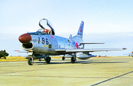 A-330さんが、名古屋飛行場で撮影した航空自衛隊 F-86D-50の航空フォト(飛行機 写真・画像)