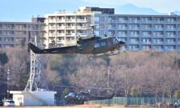 RyuRyu1212さんが、立川飛行場で撮影した陸上自衛隊 UH-1Jの航空フォト(飛行機 写真・画像)