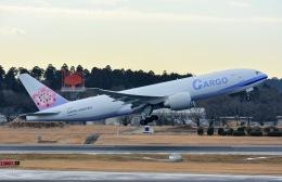 あまるめさんが、成田国際空港で撮影したチャイナエアライン 777-Fの航空フォト(飛行機 写真・画像)