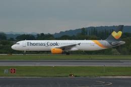 採れたてほしいもさんが、マンチェスター空港で撮影したトーマスクック・エアラインズ A321-231の航空フォト(飛行機 写真・画像)