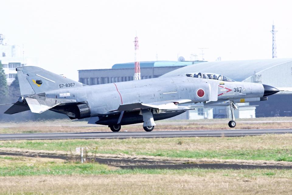 AWACSさんの航空自衛隊 Mitsubishi F-4EJ Kai Phantom II (57-8367) 航空フォト