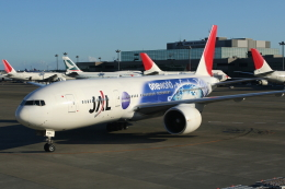 航空フォト:JA704J 日本航空 777-200
