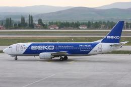 kinsanさんが、エセンボーア国際空港で撮影したペガサス・エアラインズ 737-42Rの航空フォト(飛行機 写真・画像)