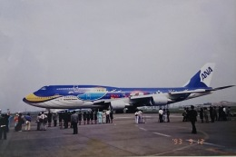 KOMAKIYAMAさんが、羽田空港で撮影した全日空 747-481(D)の航空フォト(飛行機 写真・画像)