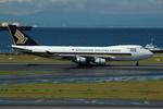 きんめいさんが、中部国際空港で撮影したシンガポール航空カーゴ 747-412F/SCDの航空フォト(写真)