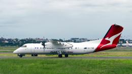 FlyingMonkeyさんが、シドニー国際空港で撮影したカンタスリンク DHC-8-315Q Dash 8の航空フォト(飛行機 写真・画像)