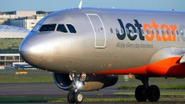 FlyingMonkeyさんが、シドニー国際空港で撮影したジェットスター A320-232の航空フォト(飛行機 写真・画像)