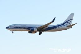 tassさんが、成田国際空港で撮影したアトラン・アヴィアトランス・カーゴ・エアラインズ 737-86N(BCF)の航空フォト(飛行機 写真・画像)